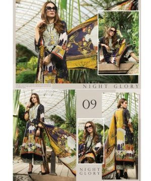 Afrozeh Sienna Lawn Collection_D 09_